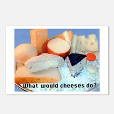 What Would Cheeses Do? Postcards (Package of 8)