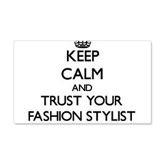 Keep Calm and Trust Your Fashion Stylist Wall Deca