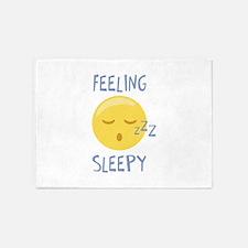Feeling Sleepy 5'x7'Area Rug