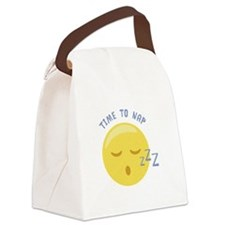 Time to Nap Canvas Lunch Bag