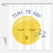 Time to Nap Shower Curtain