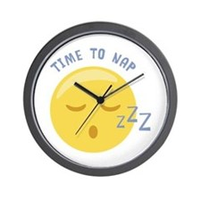 Time to Nap Wall Clock