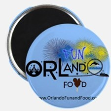 Orlando Fun and Food Logo Magnets