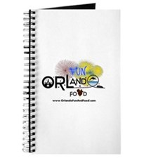 Orlando Fun And Food Logo Journal