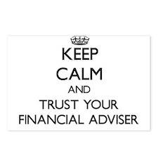 Keep Calm and Trust Your Financial Adviser Postcar