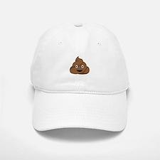 Poop Emoticon Baseball Baseball Baseball Cap
