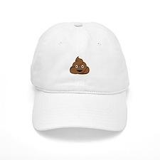 Poop Emoticon Baseball Cap