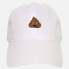 Poop Emoticon Baseball Cap