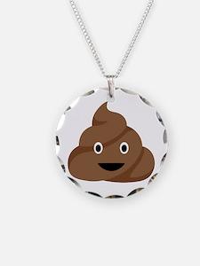 Poop Emoticon Necklace