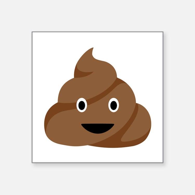 Poop Emoticon Sticker