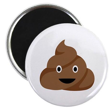 Poop Emoticon Magnets
