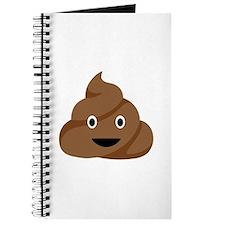 Poop Emoticon Journal