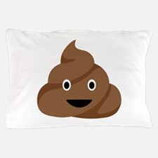 Poop Emoticon Pillow Case