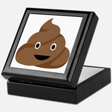 Poop Emoticon Keepsake Box