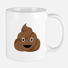 Poop Emoticon Mugs