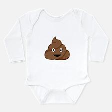 Poop Emoticon Body Suit