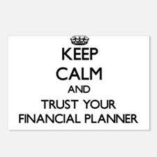 Keep Calm and Trust Your Financial Planner Postcar