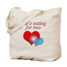 eating2boy Tote Bag