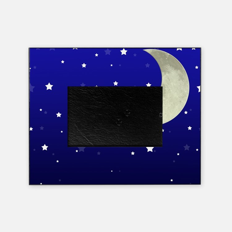 Moon and Stars Picture Frame