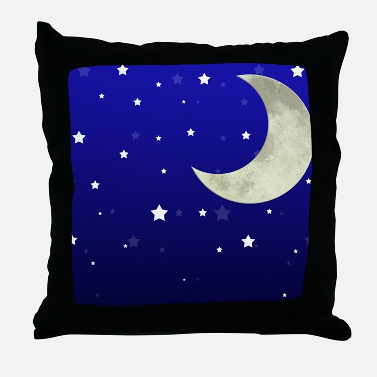 Throw Pillows With Stars : Moon And Stars Pillows, Moon And Stars Throw Pillows & Decorative Couch Pillows
