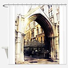 london abbey 3 Shower Curtain