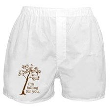 I'm falling for you Boxer Shorts