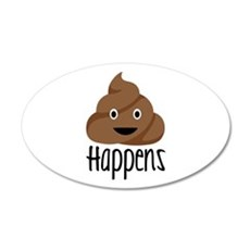 Crap Happens Wall Decal