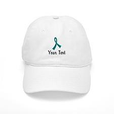Personalized Teal Ribbon Awareness Hat