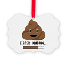 Diaper Loading Ornament