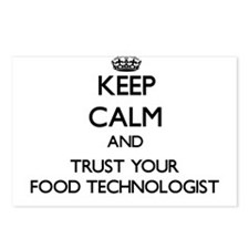 Keep Calm and Trust Your Food Technologist Postcar