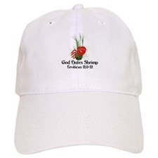 God Also Hates Shrimp Baseball Cap