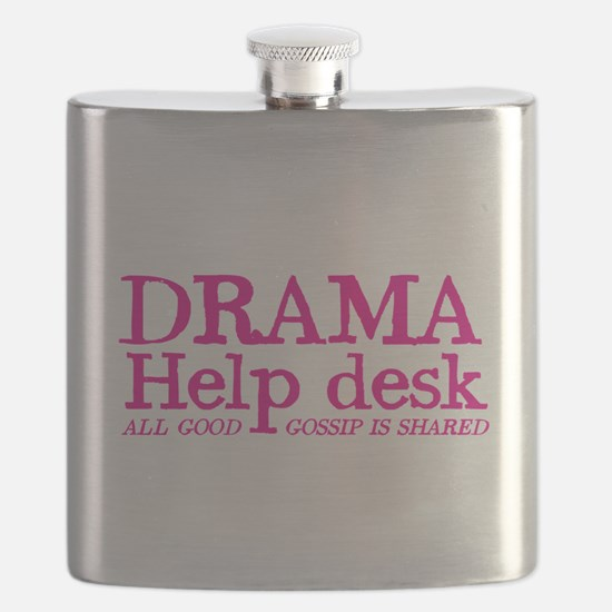 DRAMA help desk all good gossip is shared Flask