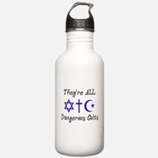 Dangerous Cults Water Bottle
