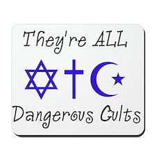 Dangerous Cults Mousepad