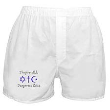 Dangerous Cults Boxer Shorts