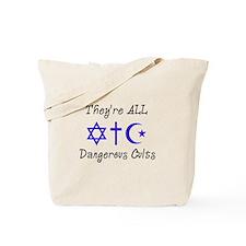 Dangerous Cults Tote Bag