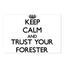 Keep Calm and Trust Your Forester Postcards (Packa