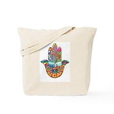 Micah Hamsa (2) Tote Bag