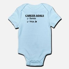 Barista Ninja Career Goals Infant Bodysuit