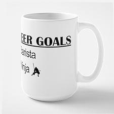 Barista Ninja Career Goals Mug