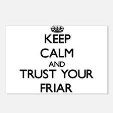 Keep Calm and Trust Your Friar Postcards (Package