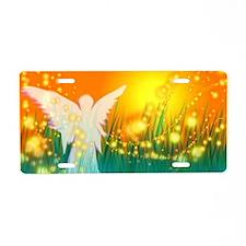Sun Angel Aluminum License Plate