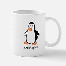 Personalized Penguin Design Mugs