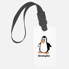 Personalized Penguin Design Luggage Tag