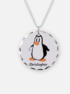 Personalized Penguin Design Necklace