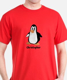 Personalized Penguin Design T-Shirt