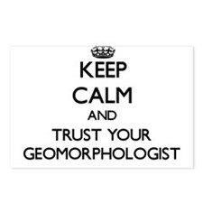 Keep Calm and Trust Your Geomorphologist Postcards