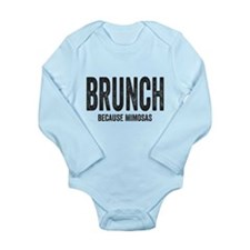 Brunch Because Mimosas Body Suit