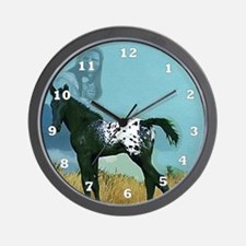 Nez Perce Pony Wall Clock