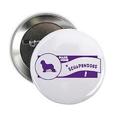 Make Mine Schapendoes Button